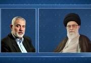 هنیه سالروز پیروزی انقلاب اسلامی را به رهبر معظم انقلاب تبریک گفت