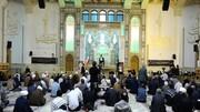 امشب حرم حضرت معصومه (س) شاهد مراسم چهلم آیت الله مصباح یزدی(ره) بود