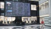 عکس/ نمای پایانی کار بازار سهام در ۱۶ اسفند