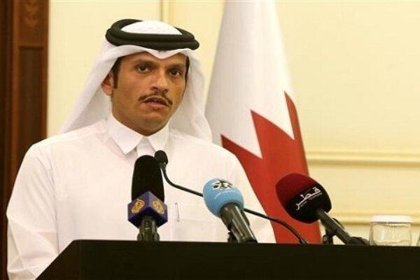 توییت وزیر خارجه کشور قطر درباره سفرش به ایران