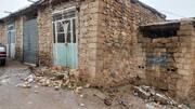 500 خانه روستایی قربانی زلزله سی سخت