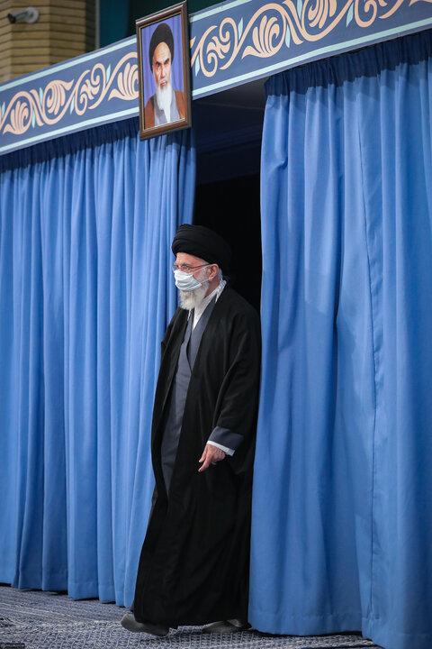 دیدار اعضای مجلس خبرگان رهبری