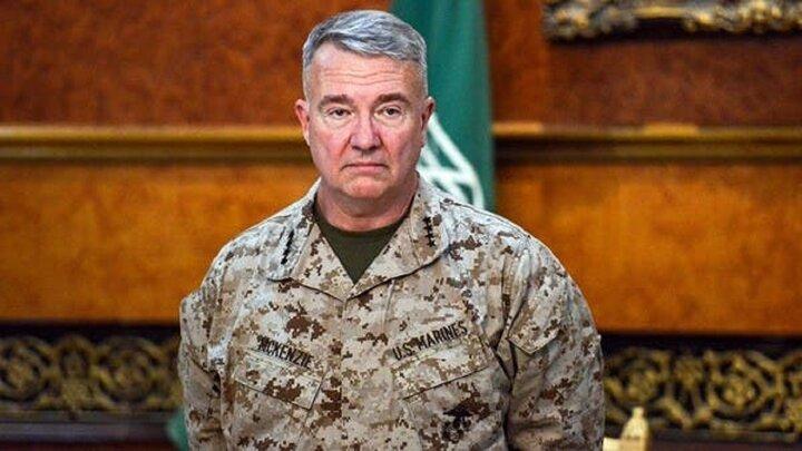 فرمانده سنتکام: حملات اربیل از سوی ایران انجام شده است!