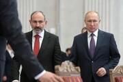 پوتین خواستار حل و فصل قانونی بحران ارمنستان شد