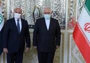 وزیر خارجه عراق با ظریف و دیگر مقامات ایران گفتگو میکند