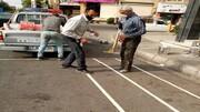 بیتوجهی به اصول خطکشی خیابانی در ملارد + فیلم