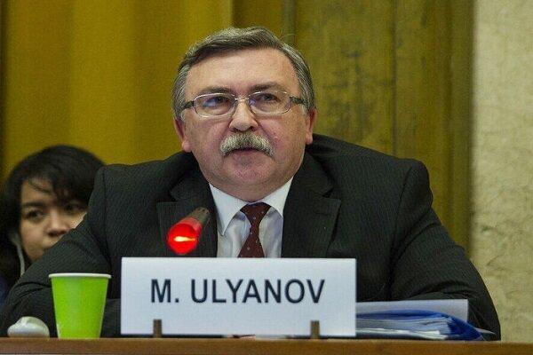 اولیانوف: احیای برجام رفتار مسئولانه شورای حکام را می طلبد