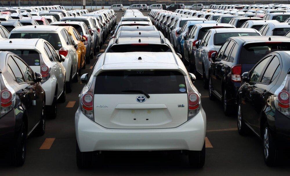 قیمت خودروهای ژاپنی در پایتخت +جدول