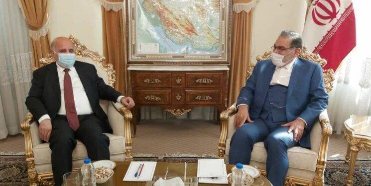فؤاد حسین در دیدار با شمخانی: بزودی روند پرداخت بدهیهای عراق به ایران آغاز میشود