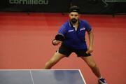 حذف نیما عالمیان از تورنمنت تنیس روی میز قطر