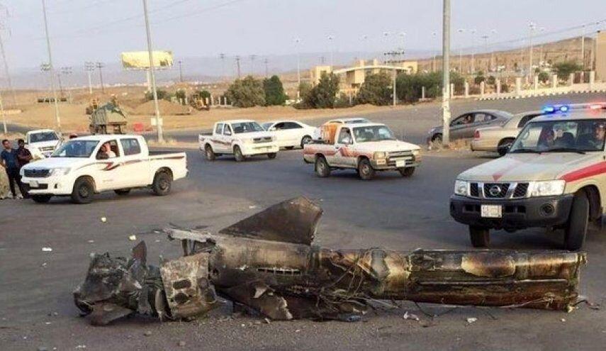 خسارات ناشی از حمله موشکی به ریاض