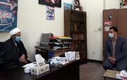 سرپرست جدید اداره ورزش و جوانان با امام جمعه قرچک دیدار کرد