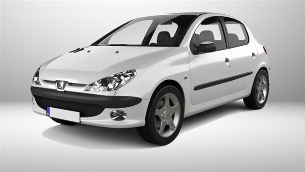 قیمت خودرو ۲۰۶ در بازار تهران