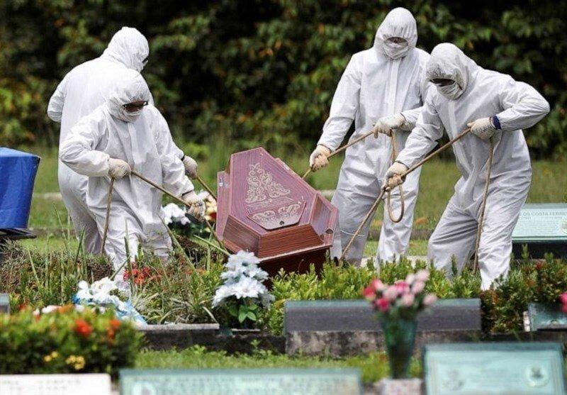 مرگ ۱۲۸۳ آمریکایی در ۲۴ ساعت گذشته +جدول تغییرات