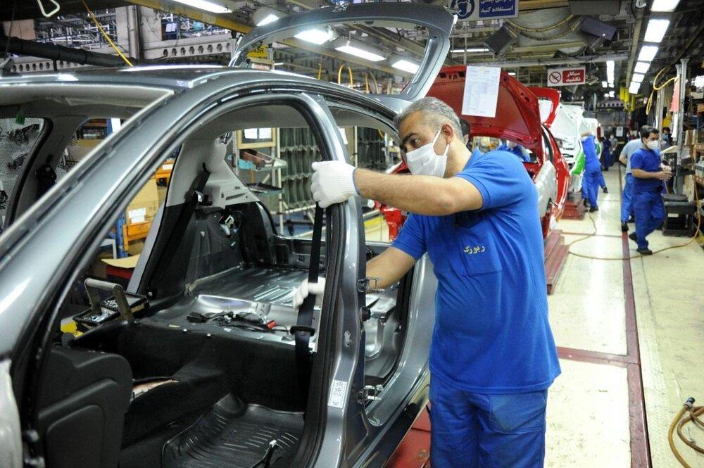 آمار تولید خودروسازان در بهمن ماه