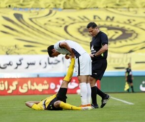 دیدار سپاهان اصفهان و گل گهر سیرجان /گزارش تصویری
