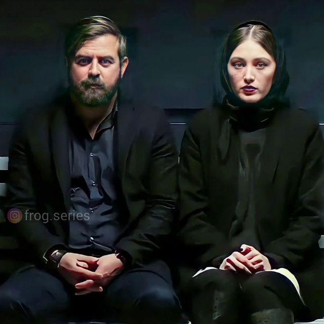 لیلا و شمس آبادی در سریال قورباغه /عکس
