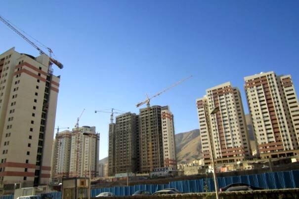 نرخ آپارتمان های نوساز در تهران