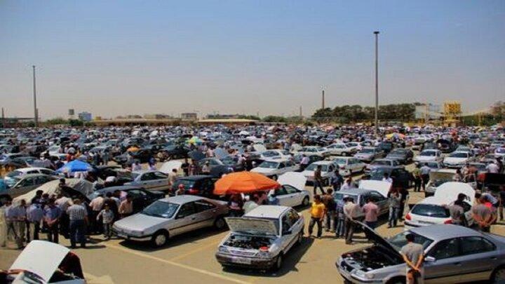 کاهش حجم معاملات بازار خودرو بهدلیل افزایش قیمت