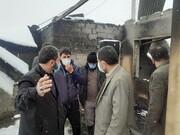 آتش سوزی در روستای زرمان فیروزکوه ۲۵۰ راس دام را تلف کرد