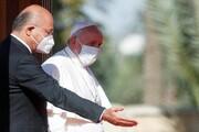 برهم صالح با پاپ فرانسیس دیدار کرد
