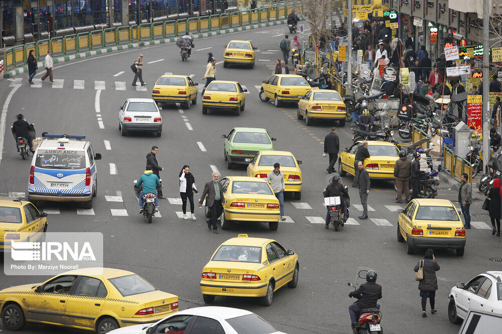نوسازی ۱۰ هزار تاکسی تا پایان سال جاری