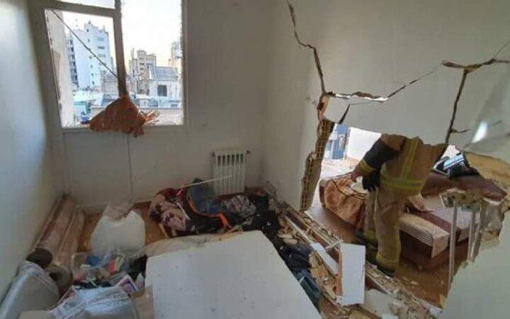انفجار شدید ساختمانی در مرکز تهران