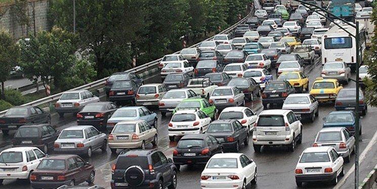 ترافیک در بزرگراههای پایتخت+ جزئیات