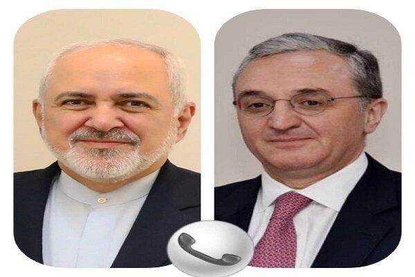 گفتوگو ظریف و وزیر امور خارجه ارمنستان