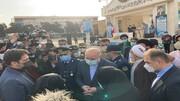 مراسم تشییع پیکر خلبان شهید بیرجند بیک محمدی