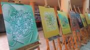 نمایشگاه آثار هنری در بهار