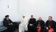 شجاعت بینظیر آیتالله سیستانی در برابر پاپ