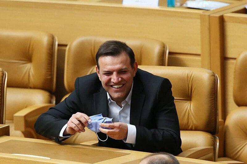 رئیس فدراسیون فوتبال با ظریف دیدار کرد +عکس