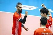 پیروزی ارزشمند یاران معروف در لیگ والیبال چین