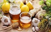 ۳درمان خانگی با عسل برای سلامت تنفسی