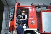 بازدید از ایستگاه آتش نشانی شهید رحمانی