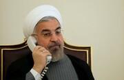 گفتگو تلفنی روحانی با رئیس جمهور عراق