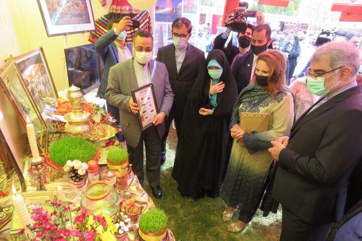 درخشش غرفه فرهنگی ایران در جشنواره بین المللی نوروز در پاکستان