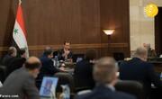 اولین جلسه رسمی بشار اسد پس از بهبودی از کرونا +تصاویر