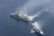 برگزاری تمرین مرکب دریایی ایران و پاکستان