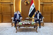 دیدار وزیر خارجه سوییس با رییس مجلس عراق