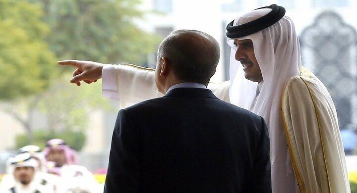 گفتگوی تلفنی اردوغان و امیر قطر
