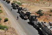 دومین کاروان لجستیکی ارتش آمریکا در غرب عراق هدف حمله قرار گرفت