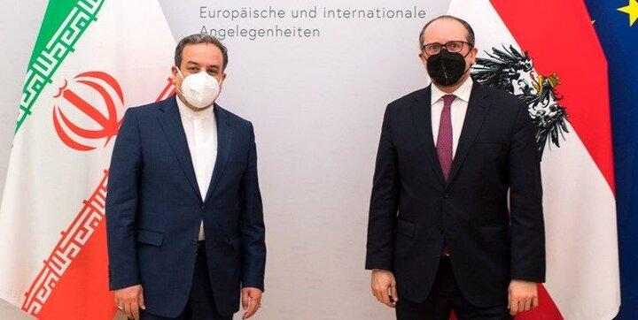 عراقچی با وزیر خارجه اتریش امروز دیدار کرد