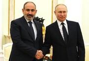 نخست وزیر ارمنستان مذاکرات خود با پوتین را نتیجهبخش ارزیابی کرد