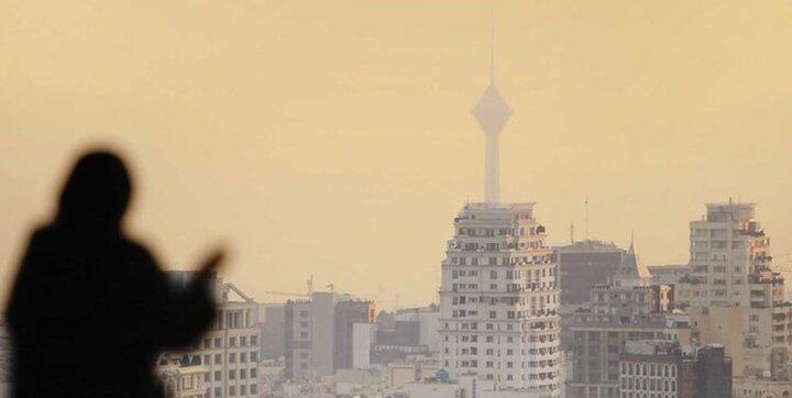 هوای تهران در مرز آلودگی است