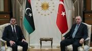 حمایت اردوغان از دولت وفاق لیبی