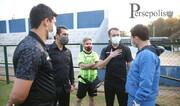حضور ناظر کنفدراسیون فوتبال آسیا در تمرین پرسپولیس