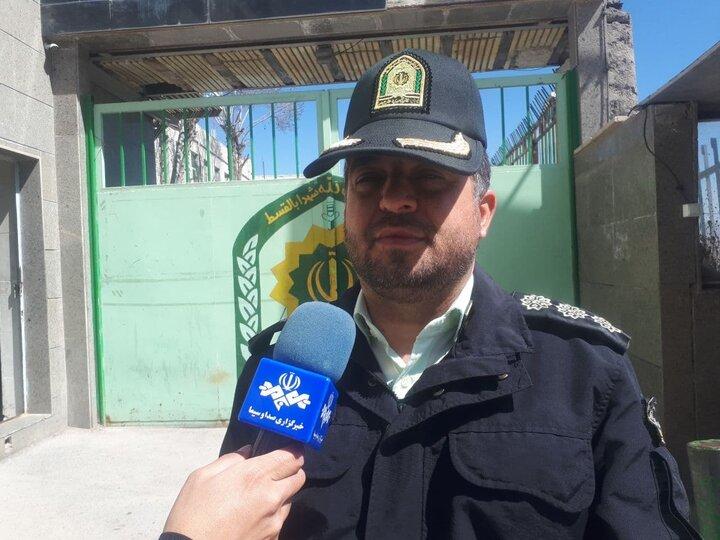 قاتل فراری کمتر از 5 ساعت در فیروزکوه دستگیر شد