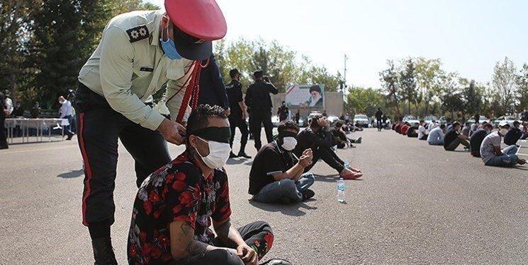 دستگیری۸۶۴ سارق، زورگیر و قاچاقچی کالا